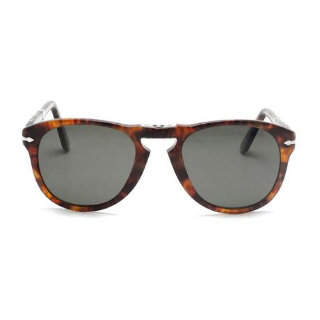 714 Iconic Polarized Folding Sunglasses // Dark Havana + Gray Polarized