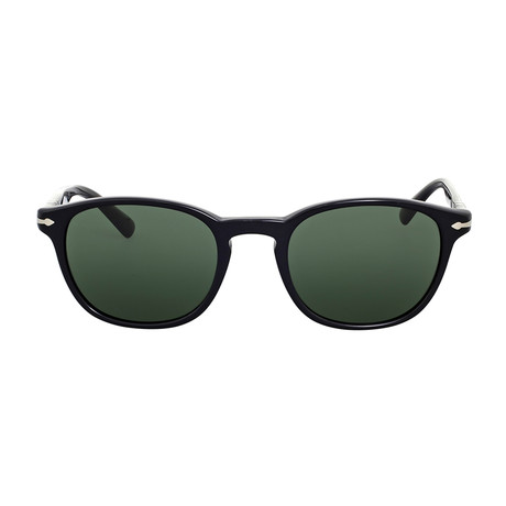 Classic 3148 Sunglasses // Black + Green