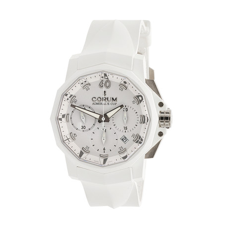 Corum Admiral's Cup 44 Chronograph Automatic // 753.802.02/F379.AA31 // Store Display
