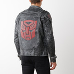 Transformers Autobots Leather Jacket // Gray (3XL)