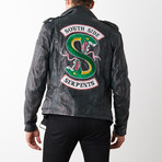 Riverdale South Side Serpents Jacket // Weathered Dark Green (XL)