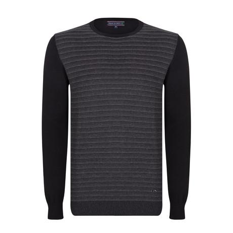 Maxwell Pullover // Black + Gray (XS)