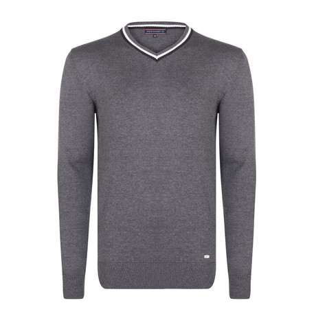 Luciano Pullover // Gray Melange (S)