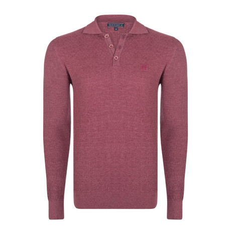 Darrin Pullover // Bordeaux (S)