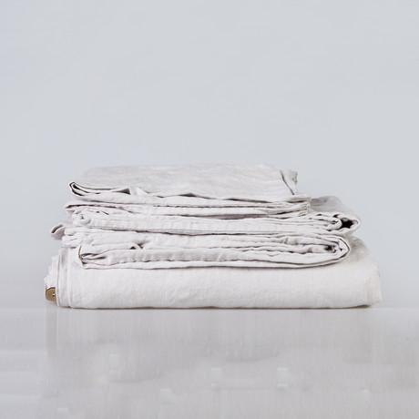 Bedding Set // Fog (Duvet Set // Full/Queen)