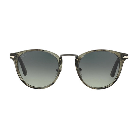 Persol Acetate + Metal Sunglasses // Grey Havana + Grey