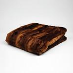 "Rabbit Throw // Toast (52""L x 65""W)"