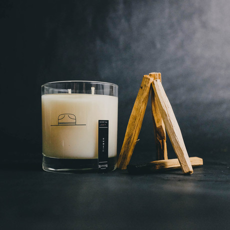 Scent No. 009 TIMBER // Candle