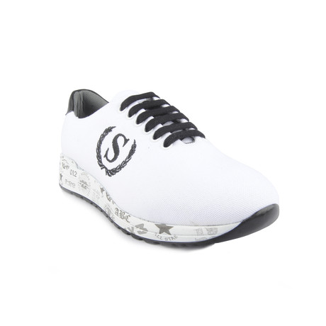 Ego Shoe // White + Black (Euro: 40)