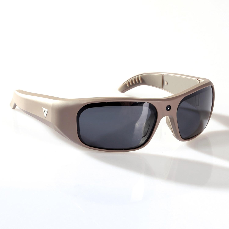 f7861f27a7 Apollo Water Resistant HD Video Recording Sunglasses    Warm Gray ...