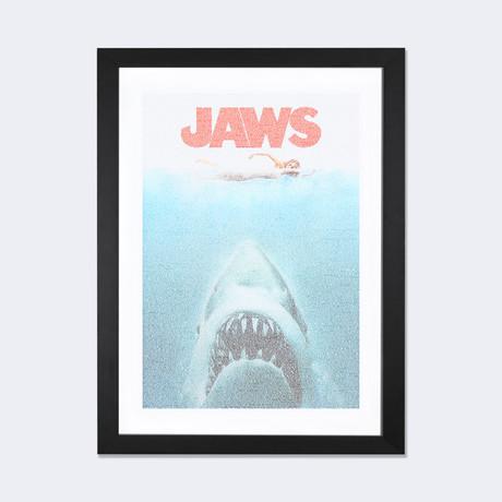 "Jaws // Robotic Ewe (24""W x 16""H x 1""D)"