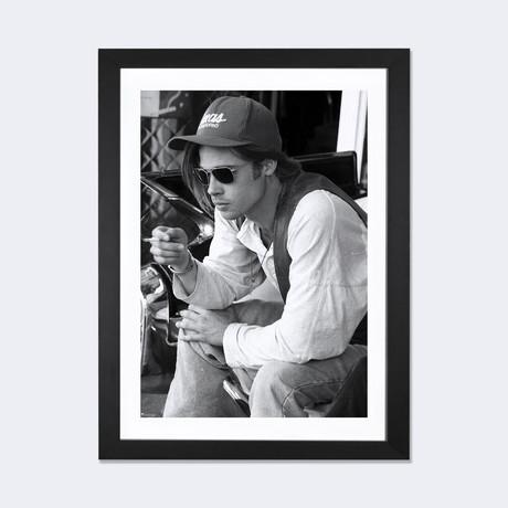 Brad Pitt Smoking In Glory Days // Joel L. Holzman