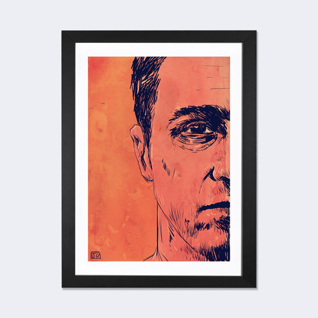 "Fight Club // Giuseppe Cristiano (24""W x 16""H x 1""D)"