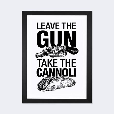 """Leave The Gun // Vincent Carrozza (24""""W x 16""""H x 1""""D)"""