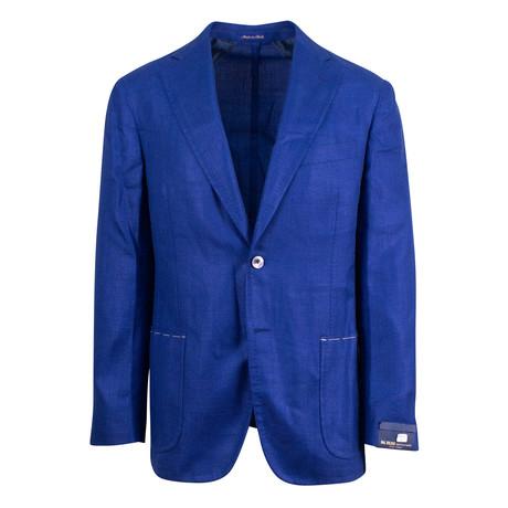 Pal Zileri Sartoriale Blue Label // 2 Button Unstructured Sport Coat // Royal Blue // Free Kiton Pocket Square (Euro: 46)