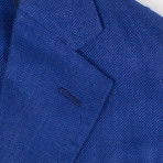 Pal Zileri Sartoriale Blue Label // 2 Button Unstructured Sport Coat // Royal Blue // Free Kiton Pocket Square (Euro: 50)