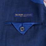 Pal Zileri Sartoriale Blue Label // 2 Button Sport Coat // Deep Blue // Free Kiton Pocket Square (Euro: 50)