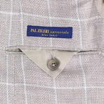 Pal Zileri Sartoriale Blue Label // 3 Roll 2 Sport Coat // Beige // Free Kiton Pocket Square (Euro: 50)