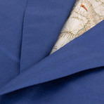 Pal Zileri Sartoriale Blue Label // 2 Button Drop 6 Sport Coat // Blue + Free Kiton Pocket Square (Euro: 46)