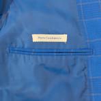 Pal Zileri Sartoriale Blue Label // 2 Button Sport Coat // Bright Blue + Free Kiton Pocket Square (Euro: 46)