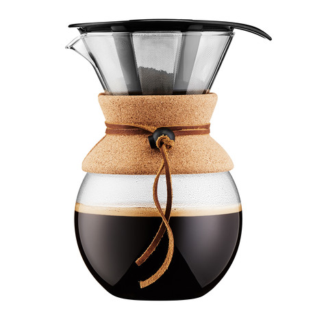 Pour Over Double Wall Coffee Maker // Cork