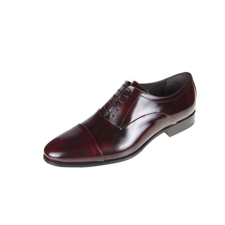 Burl Oxford Shoe // Burgundy (Euro: 40)