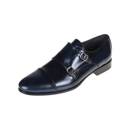 Stanton Oxford Shoe // Navy (Euro: 40)