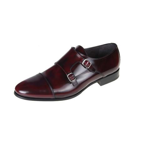 Harold Oxford Shoe // Burgundy (Euro: 40)