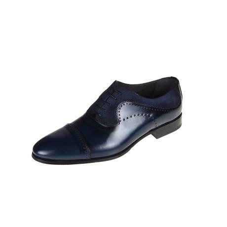 Anderson Oxford Shoe // Navy (Euro: 40)