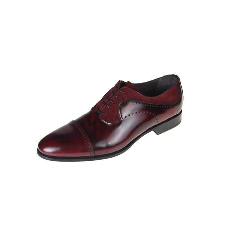 Barton Oxford Shoe // Burgundy (Euro: 40)