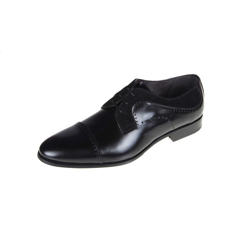 Monty Derby Shoe // Black (Euro: 40)