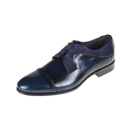 Jarred Derby Shoe // Navy (Euro: 40)