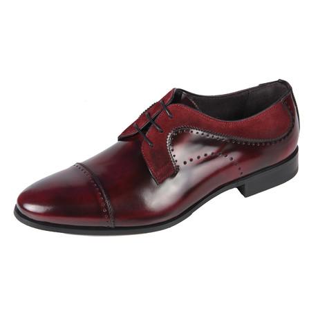 Jay Derby Shoe // Burgundy (Euro: 40)
