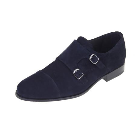 Arlen Monk Shoe // Navy (Euro: 40)