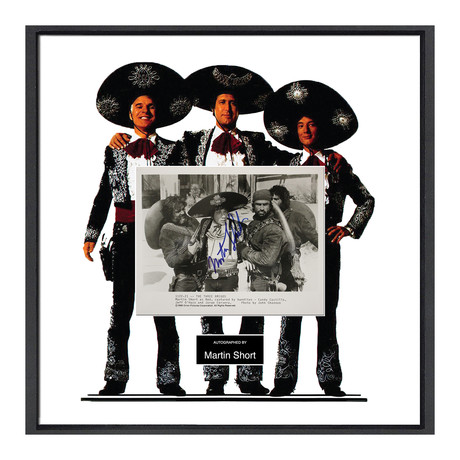 Signed Movie Collage  // Three Amigos // Martin Short