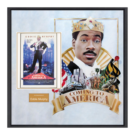 Signed Movie Collage // Coming To America