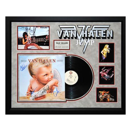 Signed Album Collage // Van Halen 1984