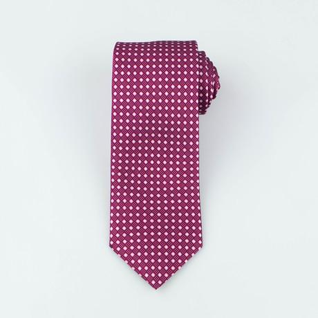 Brioni // Men's Silk Tie 139 // Red