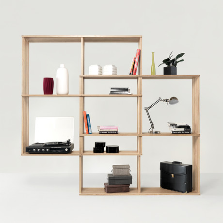 X2 Bookshelf // Oak