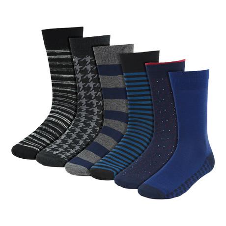 Clement Dress Socks // 6-Pack