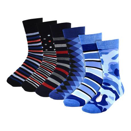 Billy Dress Socks // 6-Pack