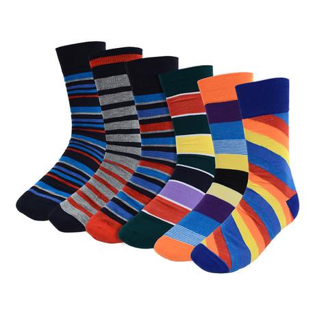Orville Dress Socks // 6-Pack
