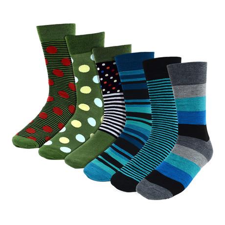 Laurence Dress Socks // 6-Pack