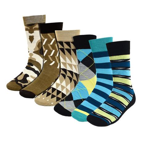 Mack Dress Socks // 6-Pack
