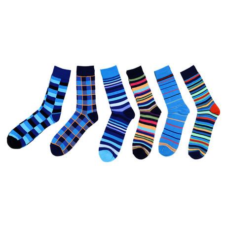 Ricky Dress Socks // 6-Pack