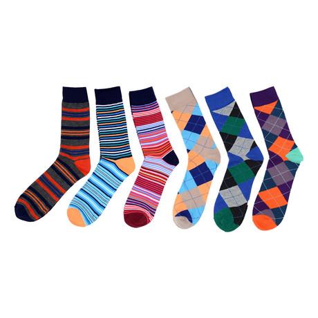 Abel Dress Socks // 6-Pack