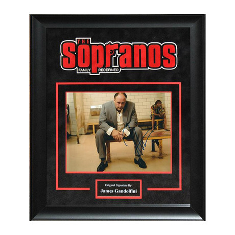 Signed Artist Series II // The Sopranos II // James Gandolfini