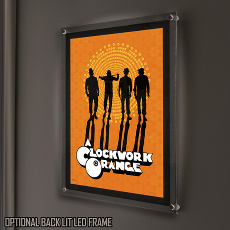 A Clockwork Orange (The Gang) // MightyPrint™ Wall Art // Backlit LED Frame
