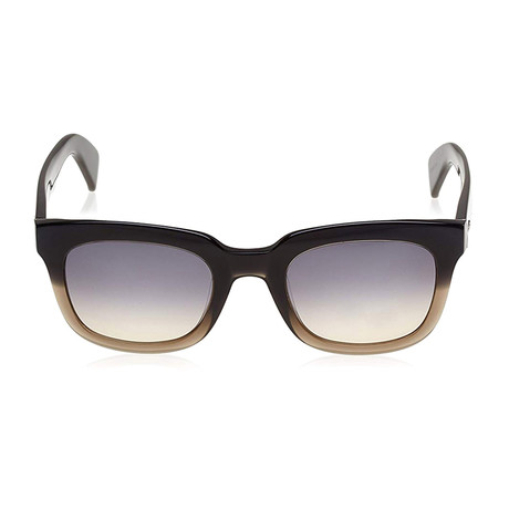 Tod's // Squared Sunglasses // Grey + Gradient Smoke