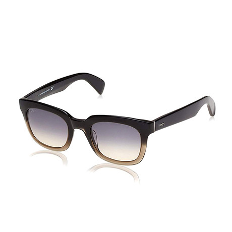 Tod's // Squared Sunglasses // Gray + Gradient Smoke